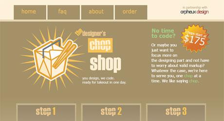 designerschopshop 40 Beautiful PSD Slicing Websites